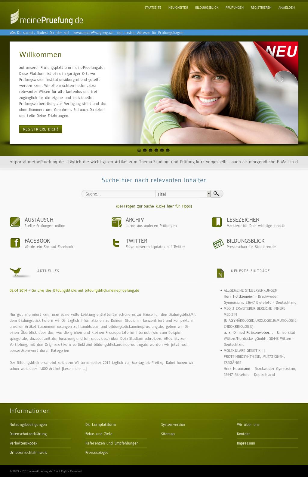 Alle Anderen 2009 meinepruefung.de competitors, revenue and employees - owler