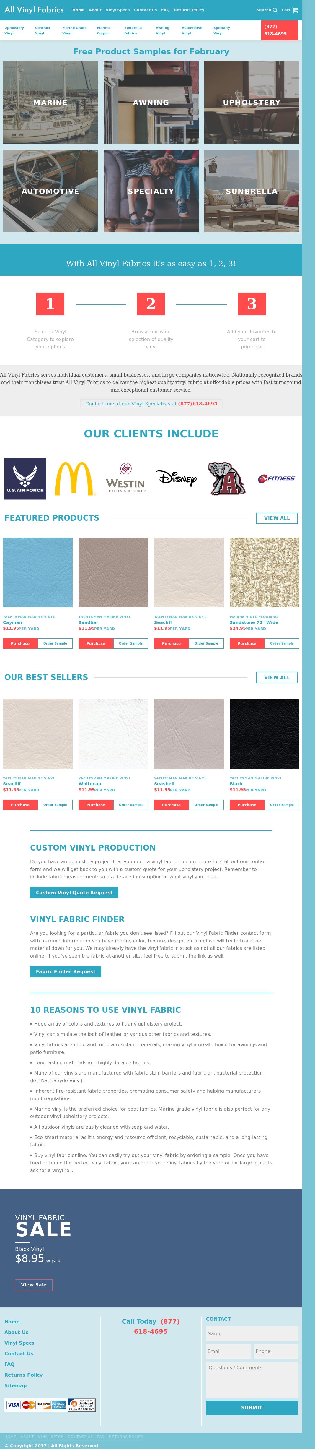 Allvinylfabrics Competitors, Revenue and Employees - Owler