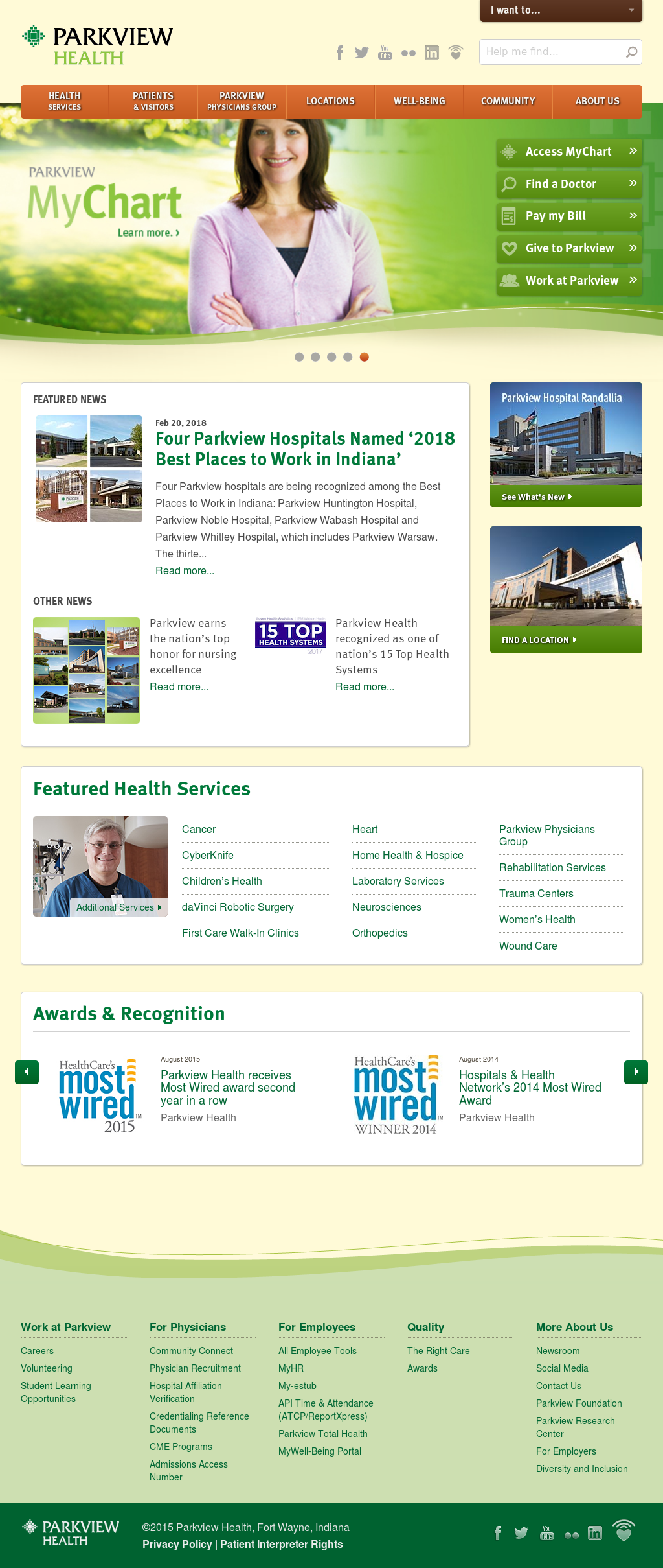 Owler Reports - Parkview Health posted a video