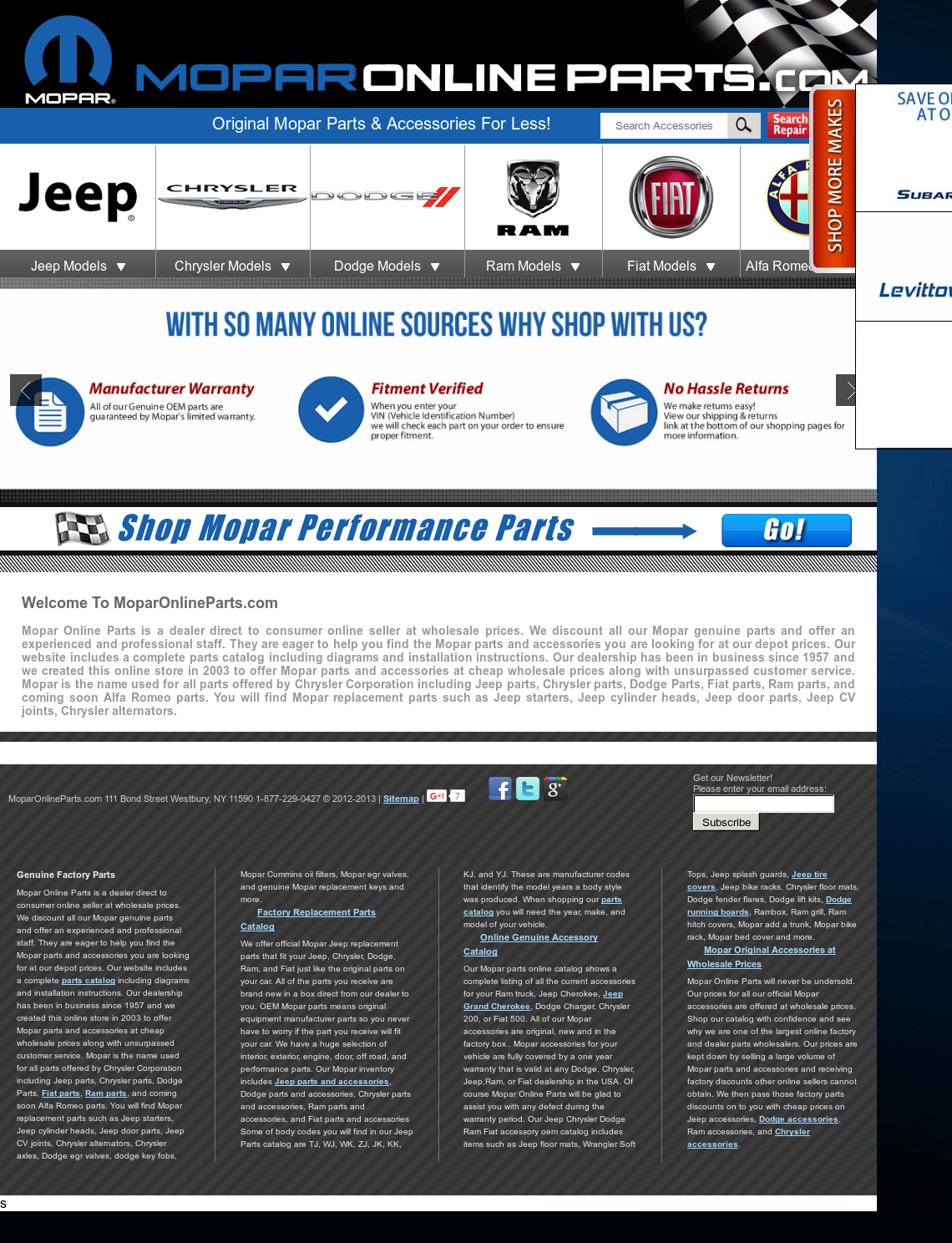 Moparonlineparts Competitors Revenue And Employees Owler Company