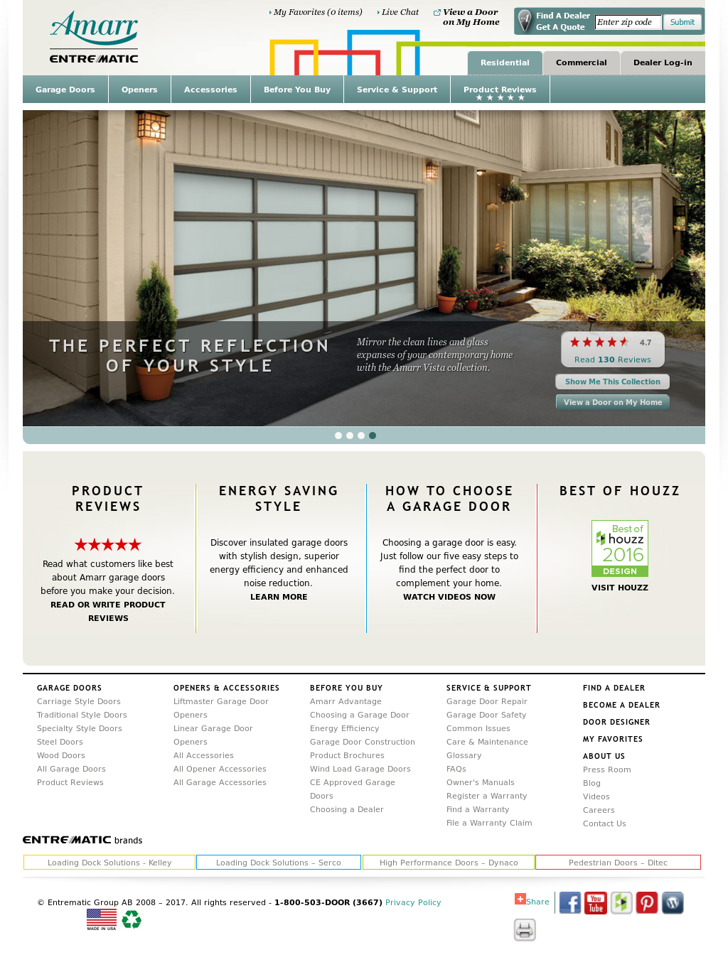 Amarr Garage Doors Competitors, Revenue and Employees