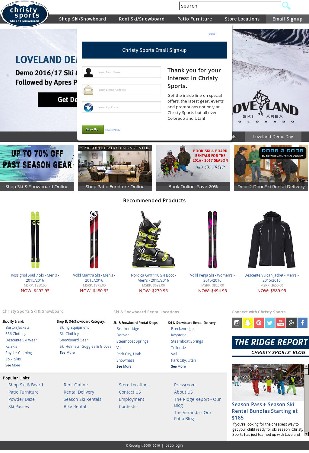 Christy Sports Competitors Revenue and Employees - Owler Company Profile  sc 1 st  Owler & Christy Sports Competitors Revenue and Employees - Owler Company ...