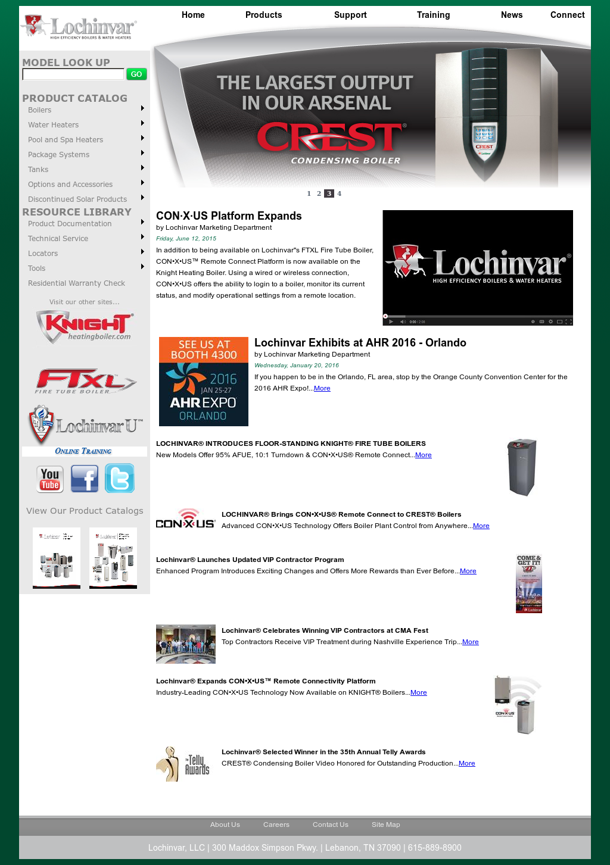 Owler Reports - Lochinvar: Lochinvar LLC: Boiler Control