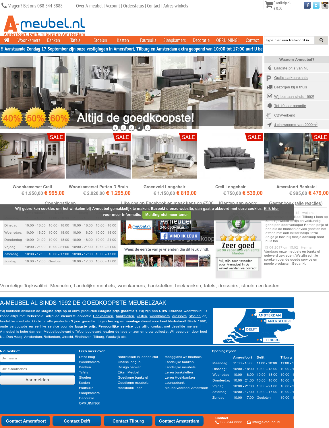 Design Meubels Opruiming.A Meubel Nl Competitors Revenue And Employees Owler Company Profile
