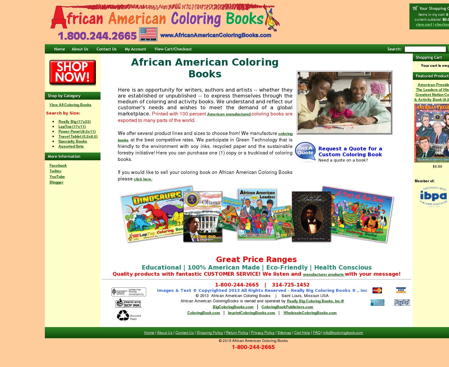 African American Coloring Books Competitors, Revenue and ...