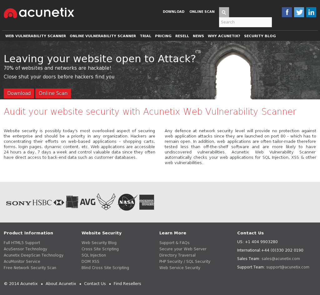 Acunetix Competitors, Revenue and Employees - Owler Company