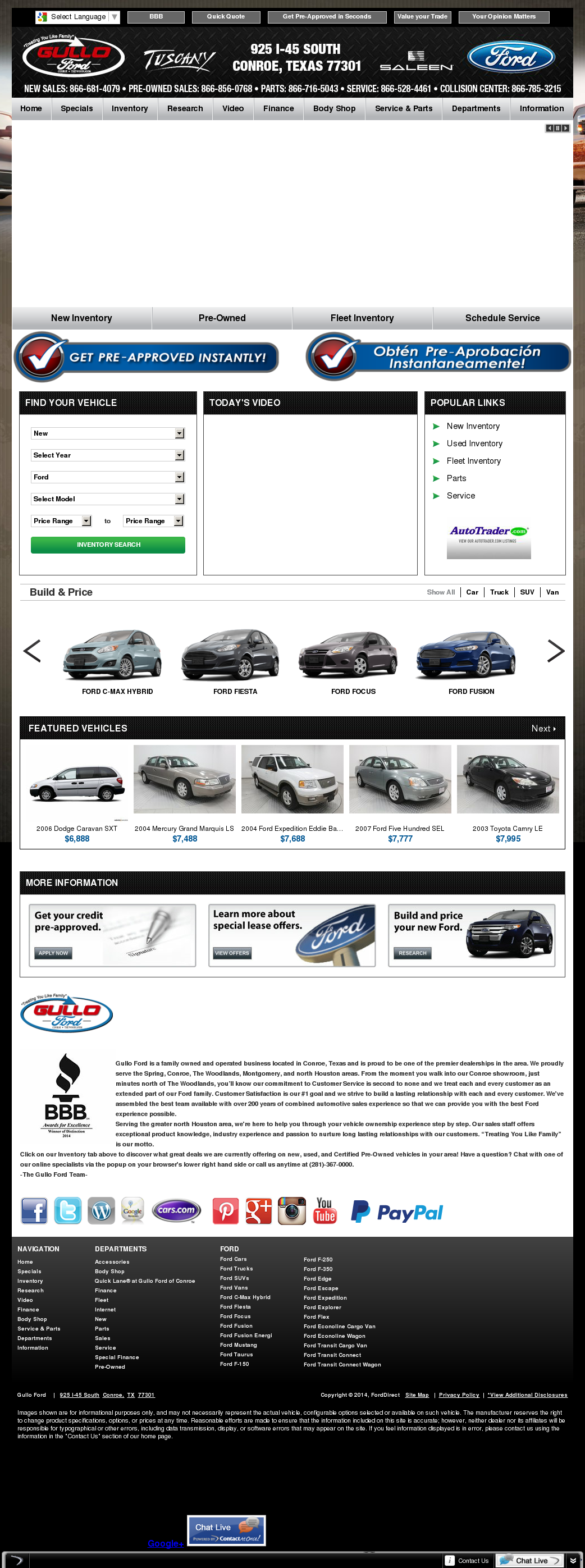 Gullo Ford Conroe Texas >> Gullo Ford Competitors Revenue And Employees Owler
