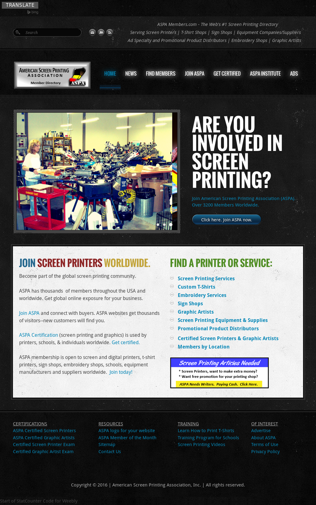 b66e32b5 American Screen Printing Association Competitors, Revenue and Employees -  Owler Company Profile