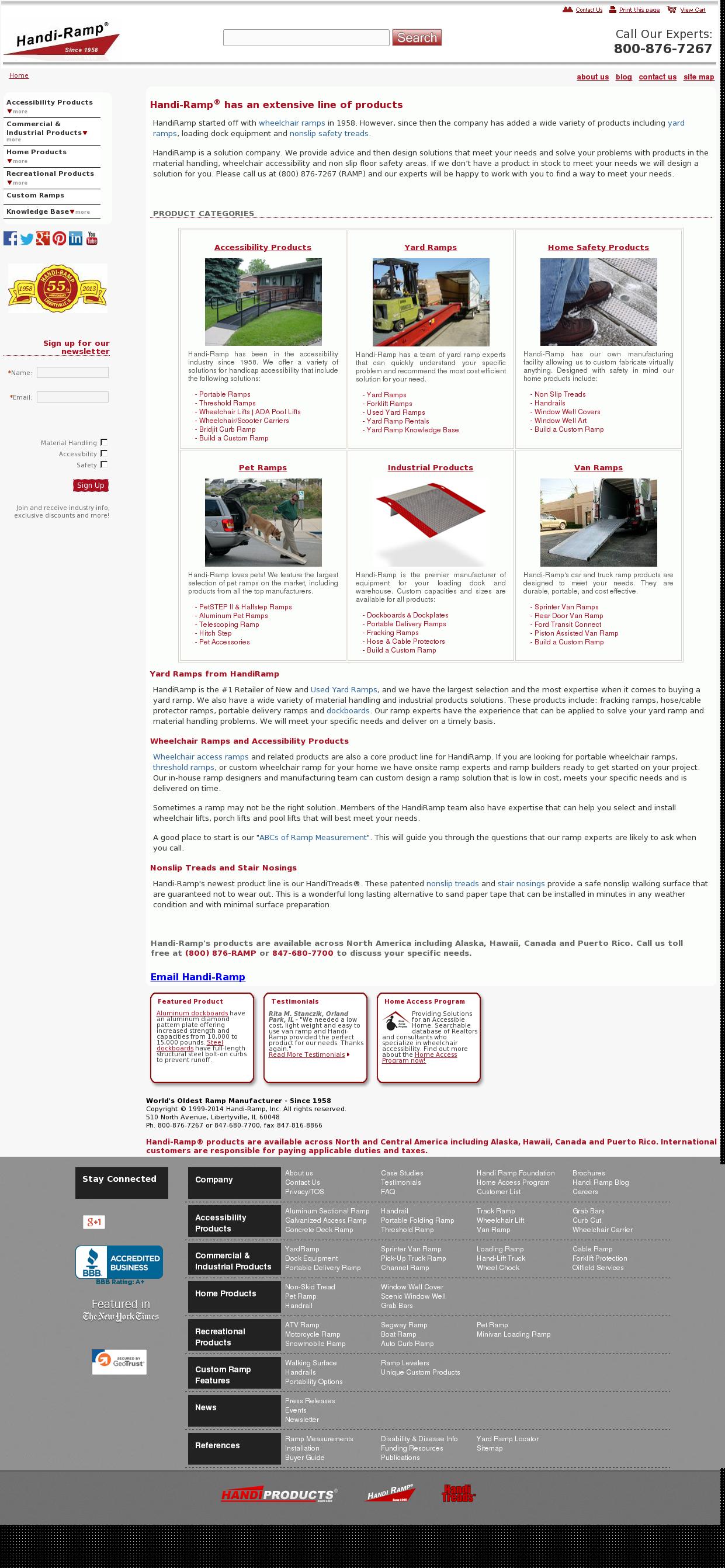 Handi-Ramp Competitors, Revenue and Employees - Owler