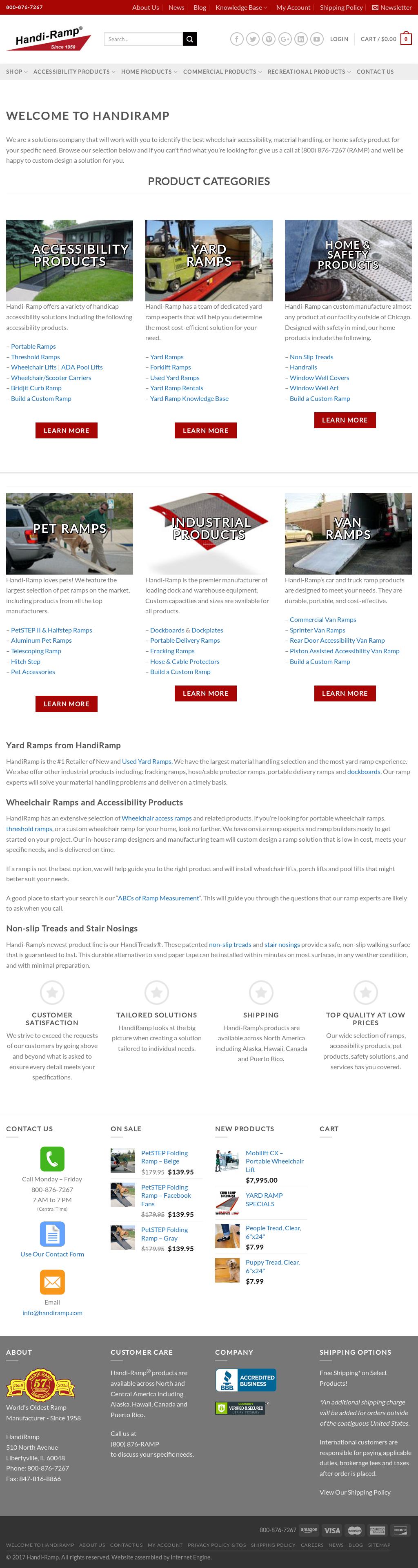 Handi-Ramp Competitors, Revenue and Employees - Owler Company Profile