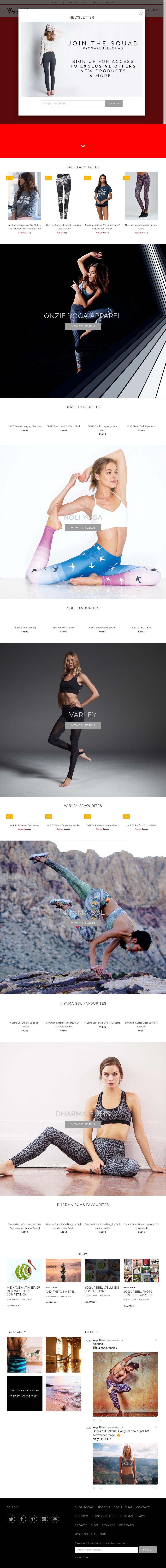 6b32f03618646 Yoga Rebel Competitors, Revenue and Employees - Owler Company Profile