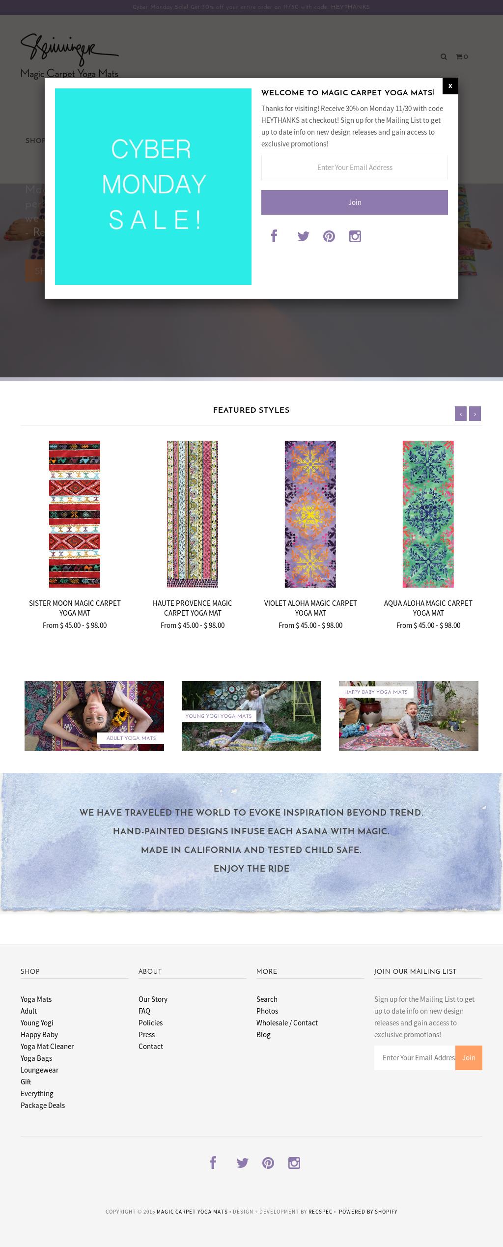 Magic Carpet Yoga Mats Competitors, Revenue and Employees - Owler Company Profile
