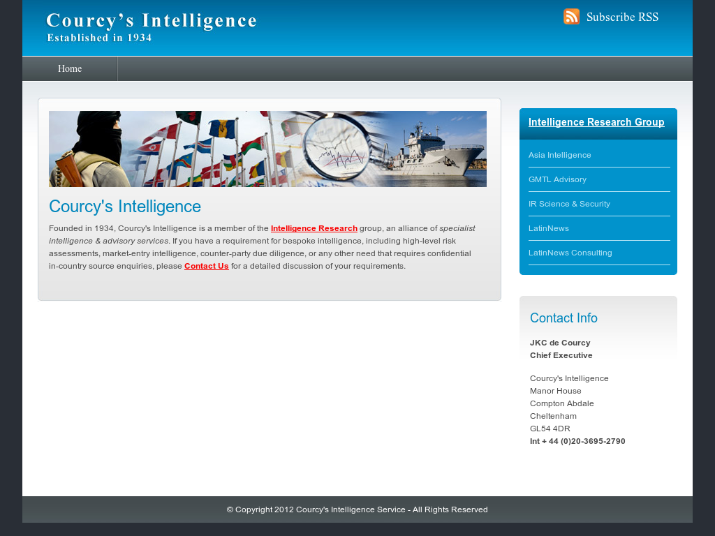 Courcys Intelligence Service Competitors Revenue And Employees