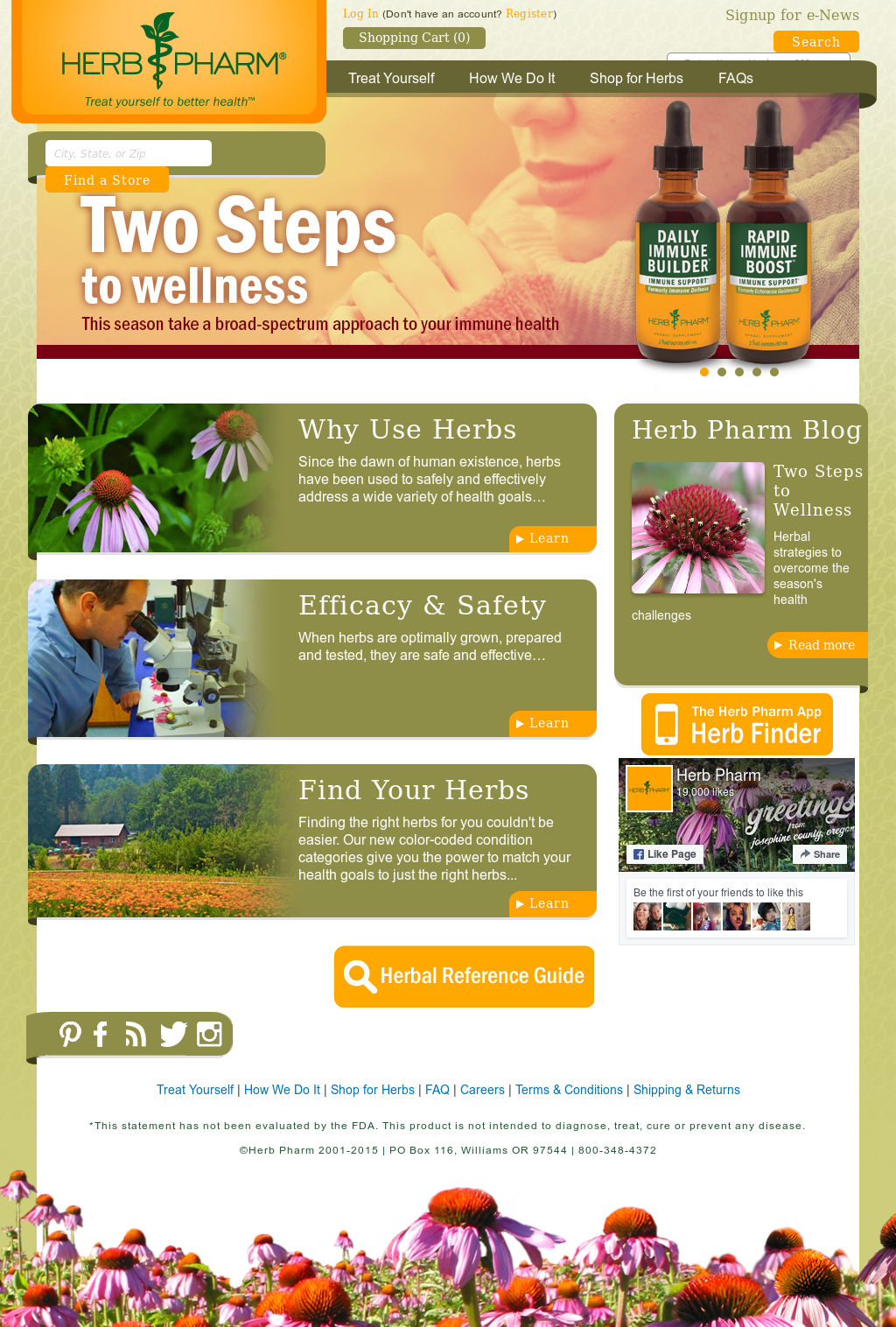 Nature S Herb Company Since  Website