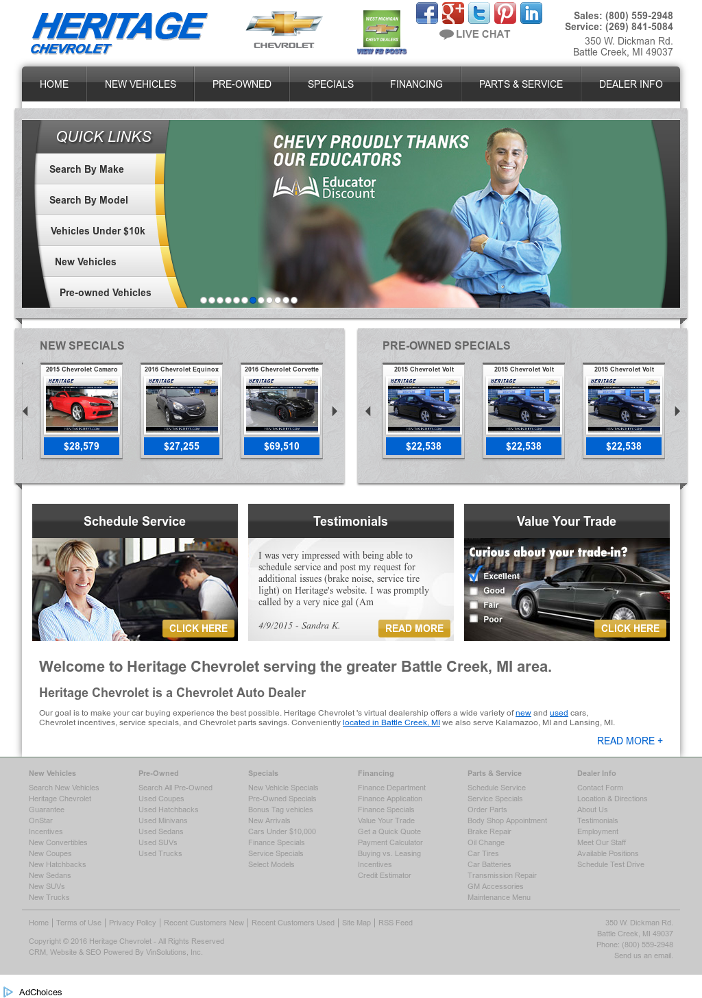 Heritage Chevrolet Competitors, Revenue And Employees   Owler Company  Profile