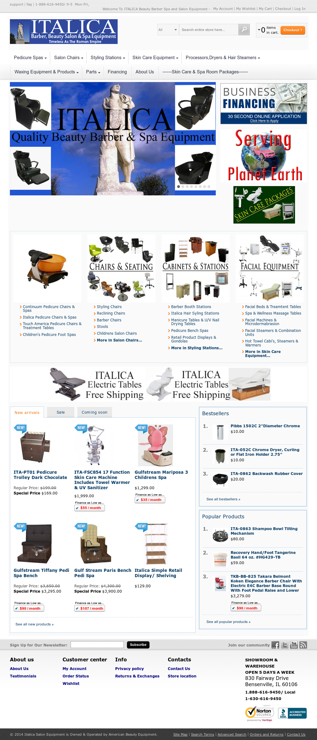 Italica Salon Equipment Compeors Revenue And Employees Owler Company Profile