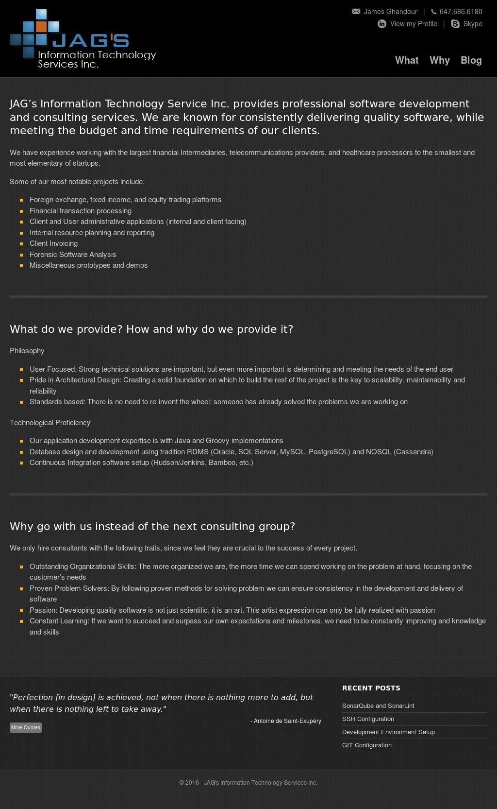 Jag's Information Technology Services Competitors, Revenue