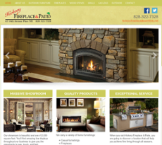 Hickory Fireplace And Patio Website History
