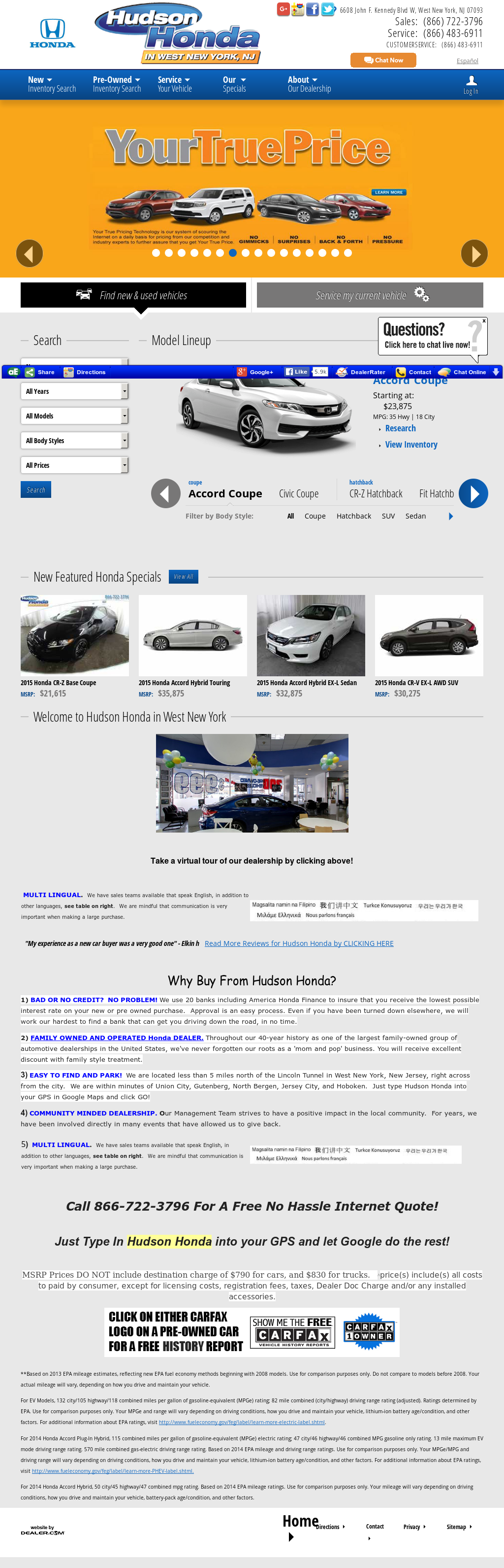 Hudson Honda Competitors, Revenue And Employees   Owler Company Profile