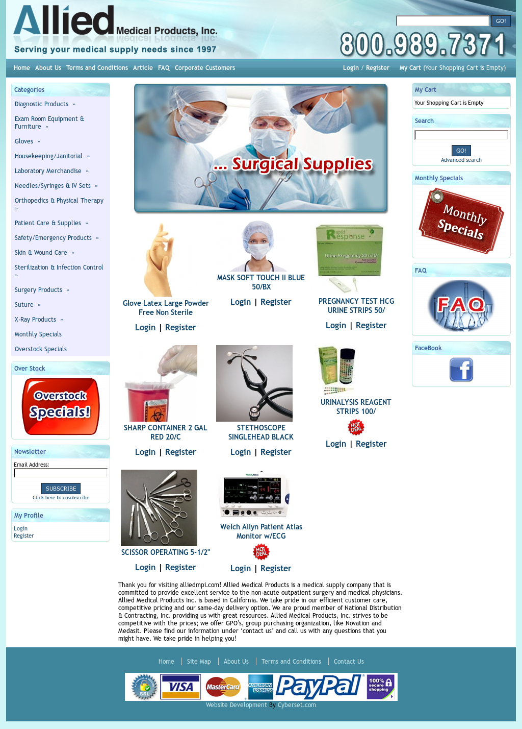 Allied health care products