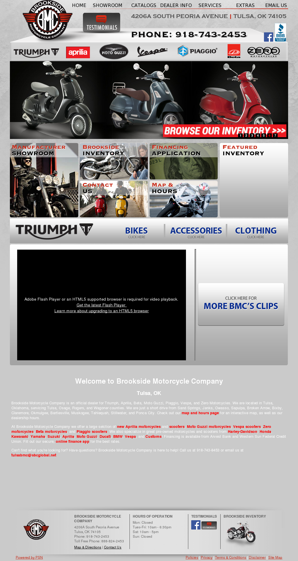 Brookside Motorcycle Company Competitors, Revenue and Employees ...