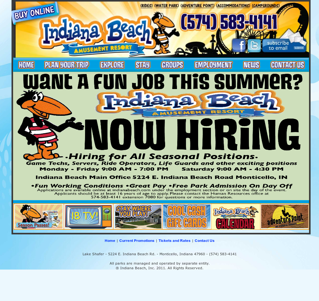 Indiana Beach Competitors, Revenue and Employees - Owler Company Profile