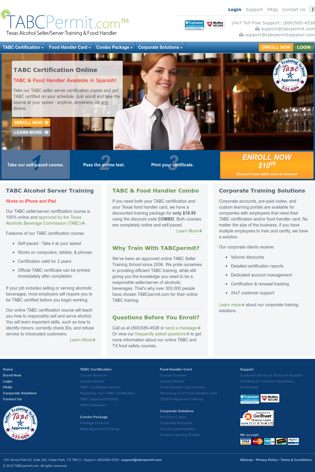 Tabcpermit Online Tabc Certification Competitors Revenue And