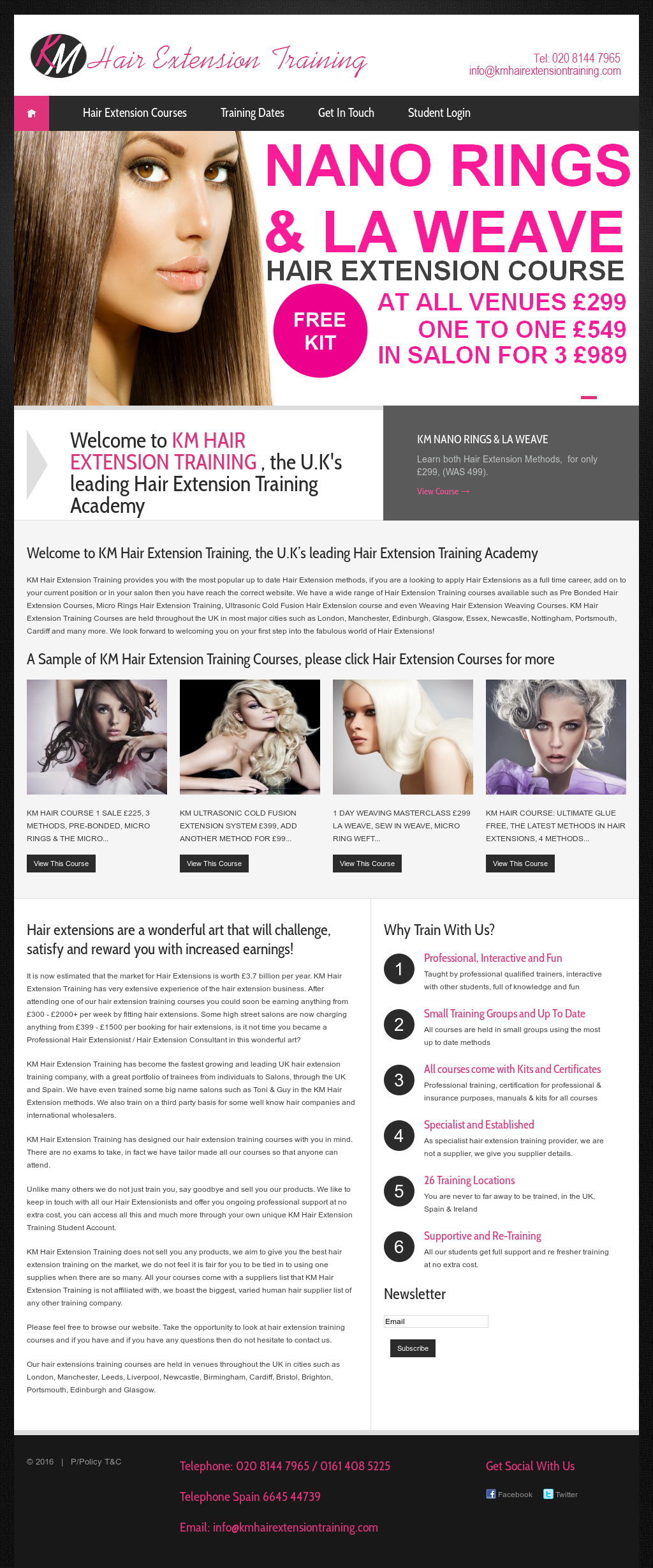 Km Hair Extension Training Competitors Revenue And Employees