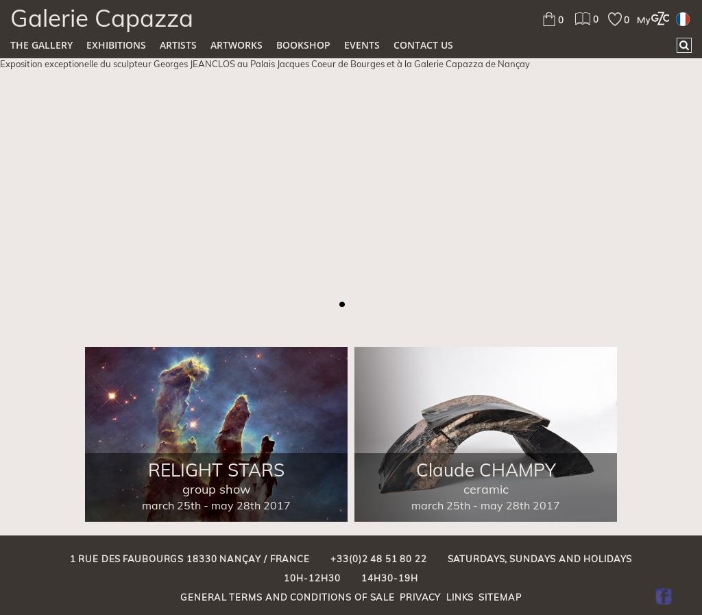 Galerie D Art Bourges galerie capazza - art contemporain competitors, revenue and