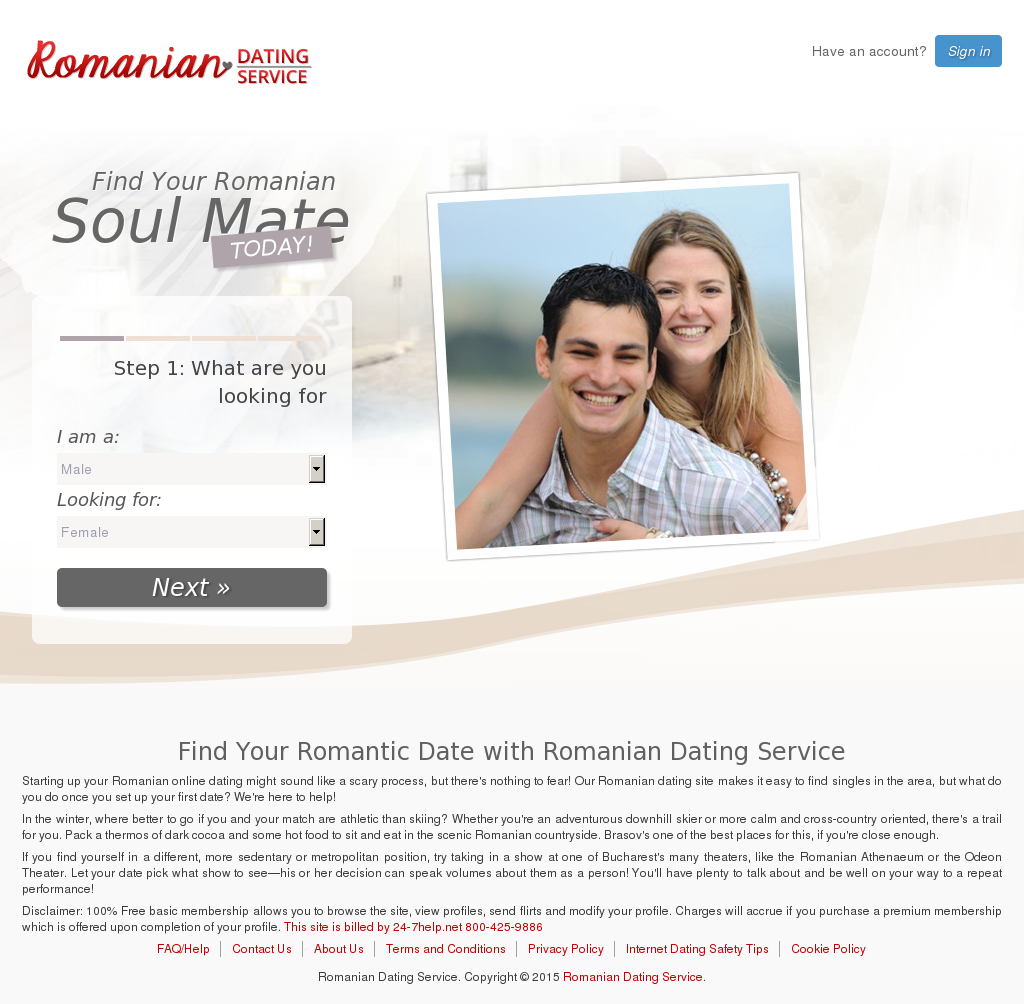 romantic romanian dating