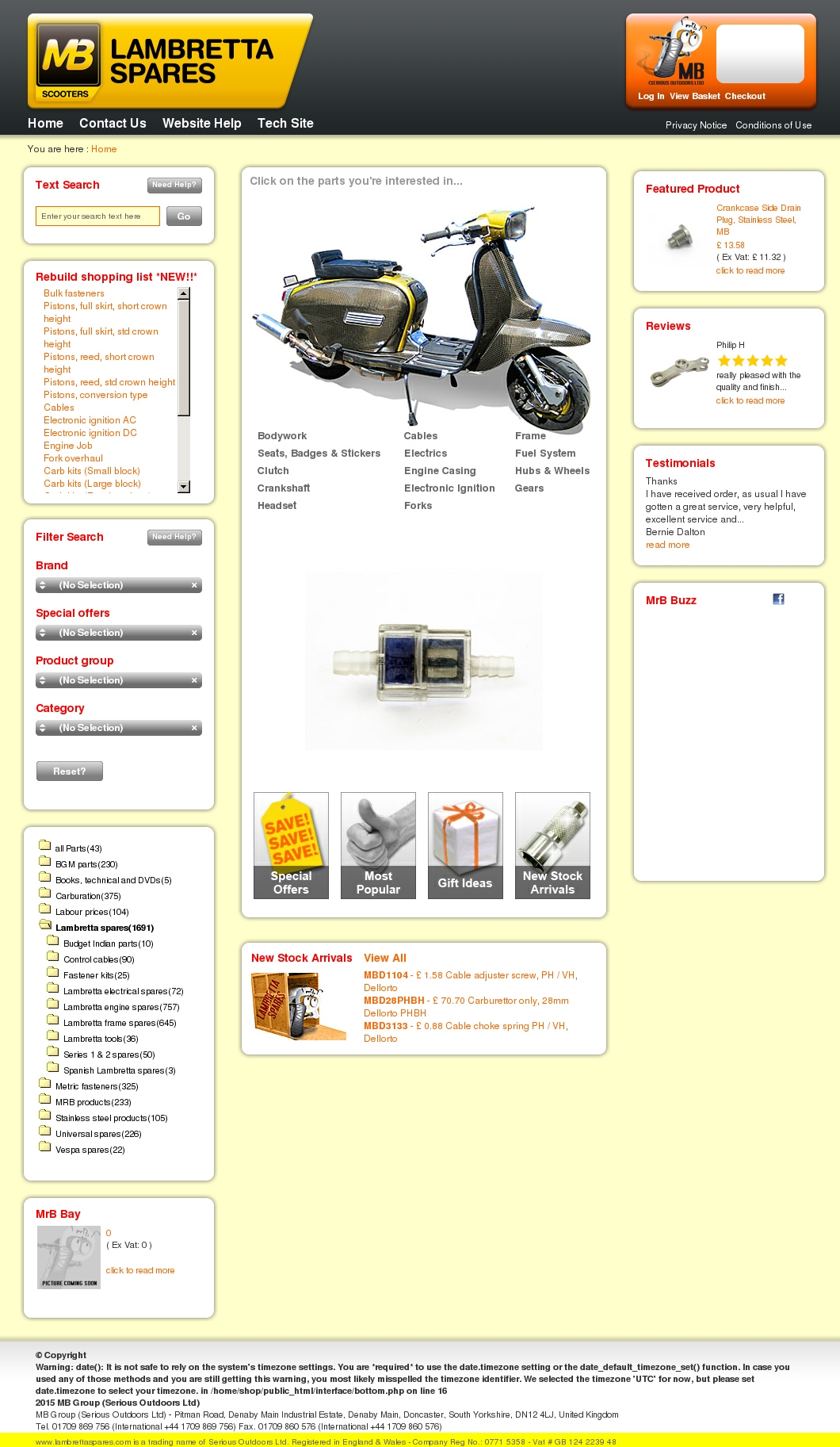 Lambrettaspares Competitors Revenue And Employees Owler Company Lambretta Series Iii Electronic Ignition Installation Profile