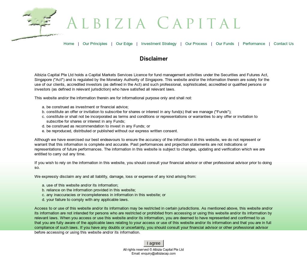 Albizia Capital Competitors, Revenue and Employees - Owler Company