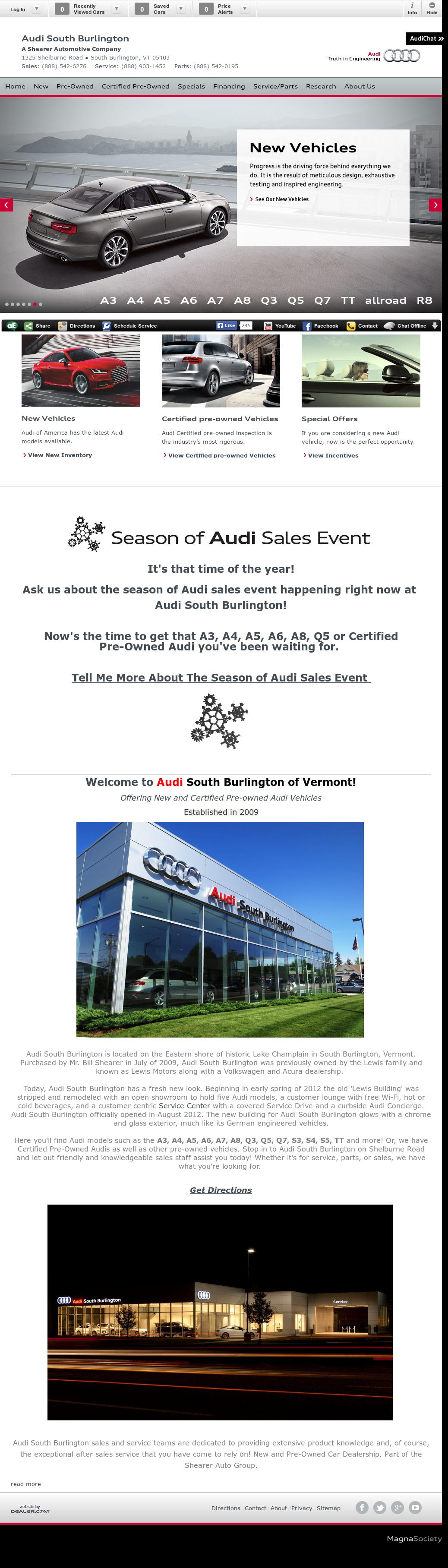 Audi South Burlington Vt Competitors Revenue And Employees Owler - Audi south burlington