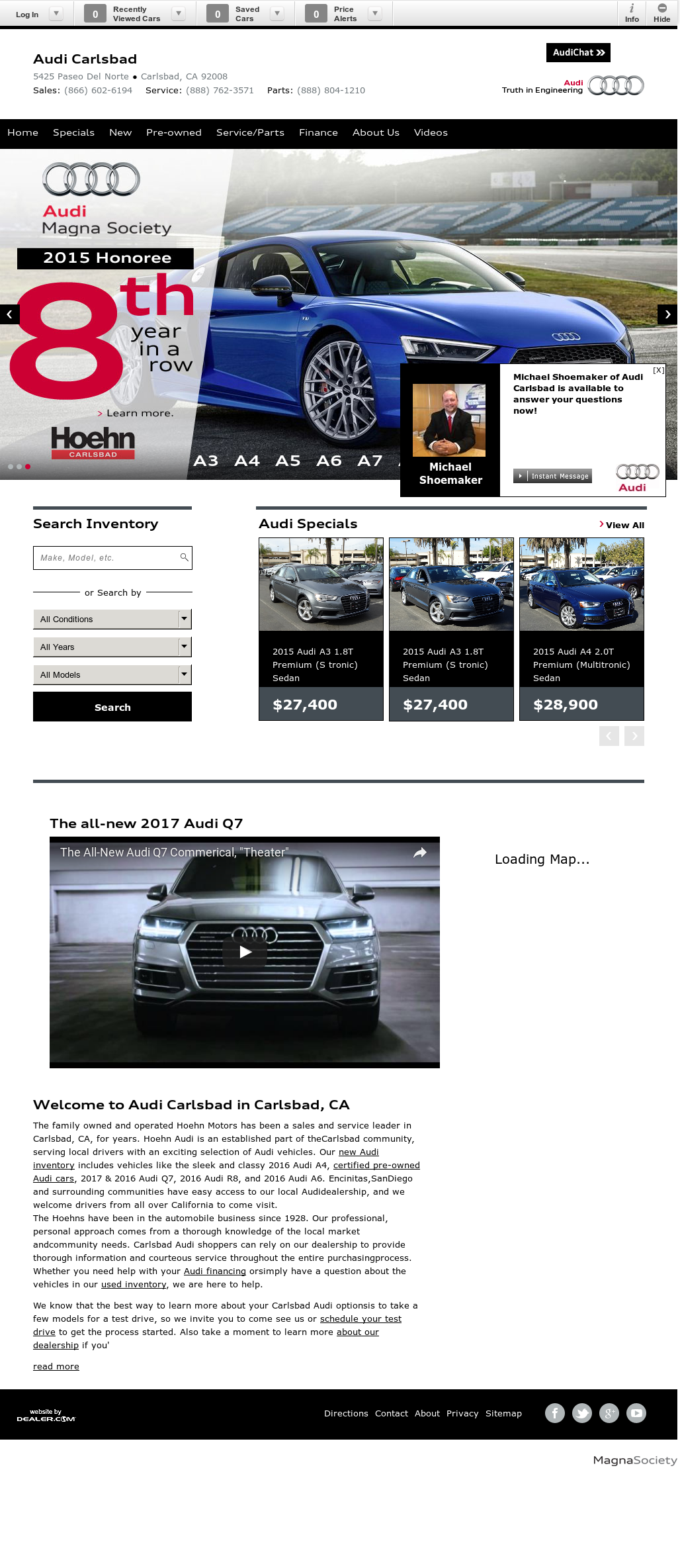 Hoehn Audi Competitors Revenue And Employees Company