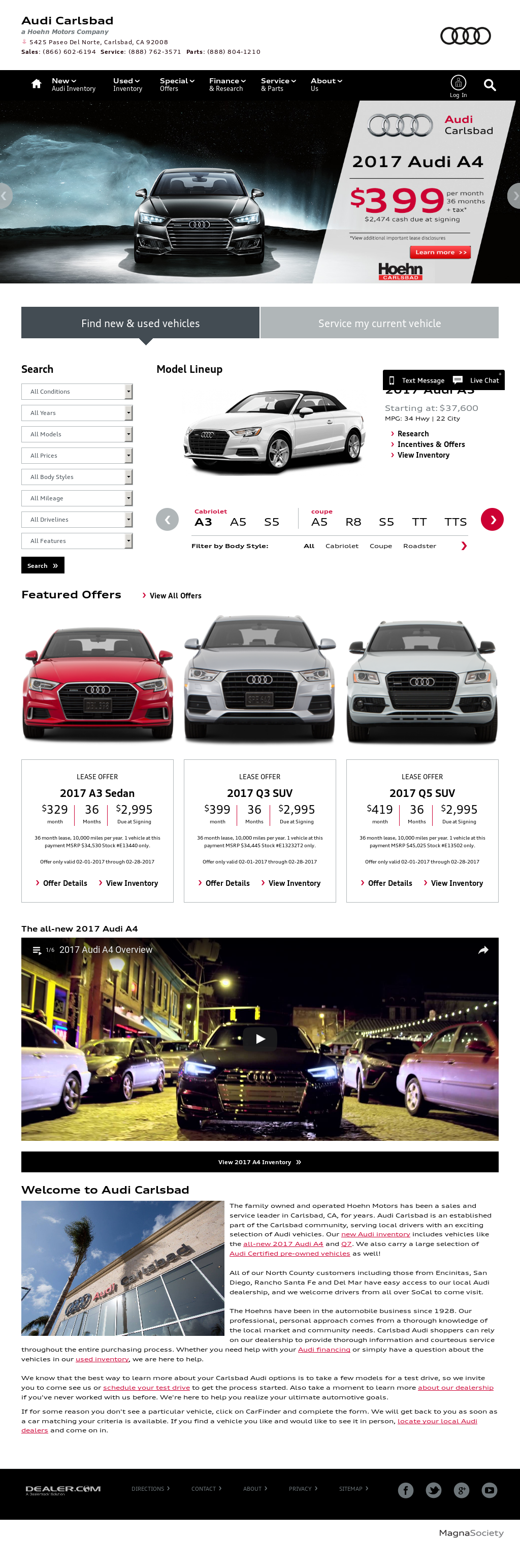 Hoehn Audi Competitors Revenue And Employees Owler