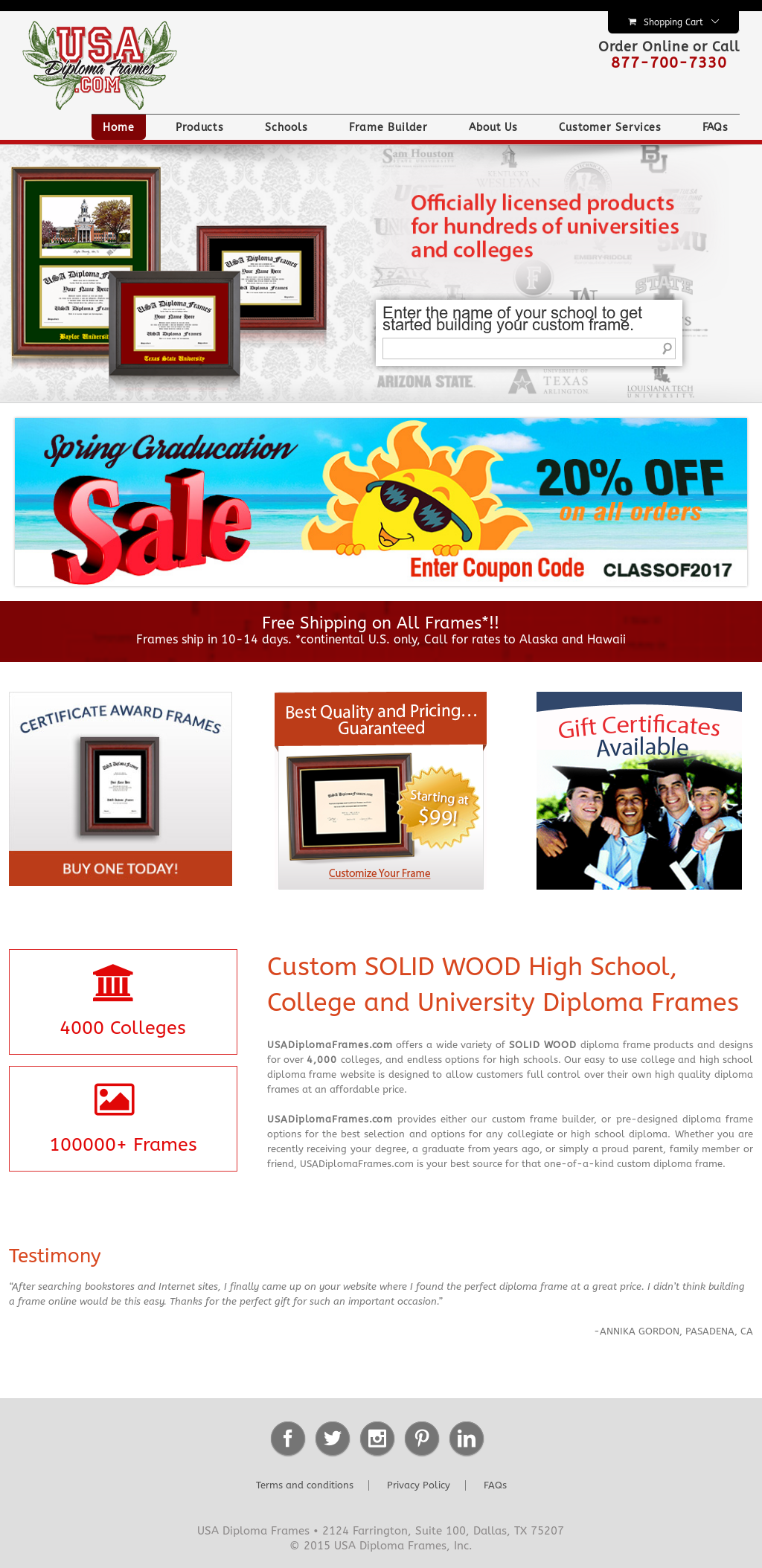 Usa Diploma Frames Competitors, Revenue and Employees - Owler ...