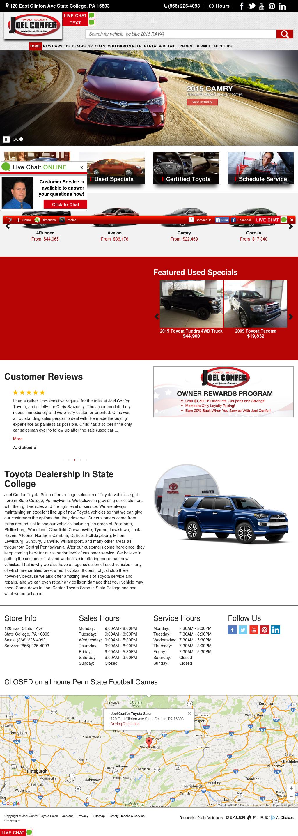 Joel Confer Toyota >> Joel Confer Dodge Toyota Bmw Competitors Revenue And