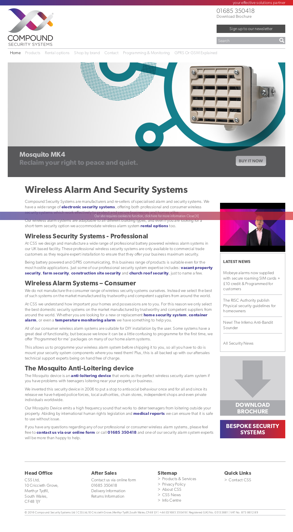 Compound Security Design : Compound security systems competitors revenue and