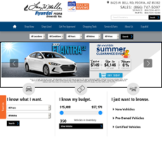 Larry H. Miller Hyundai Peoria Website History