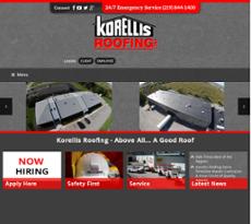 Jun 2017. Oct 2017. Korellis Roofing Website History