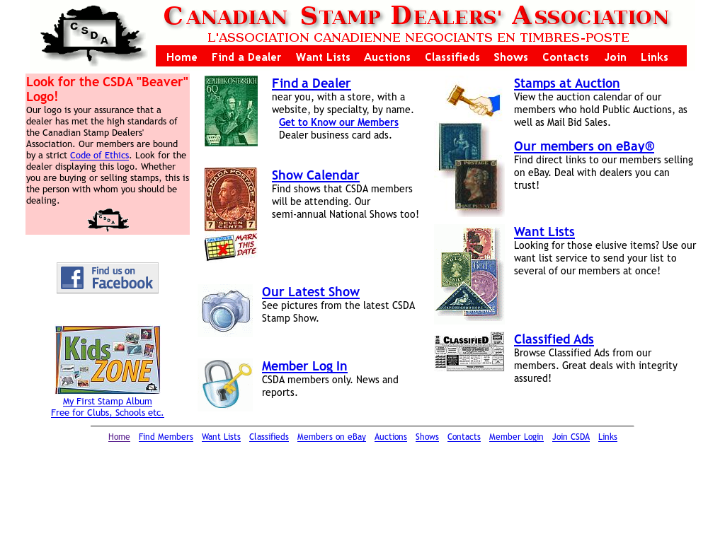 Canadian Stamp Dealers' Association Competitors, Revenue and
