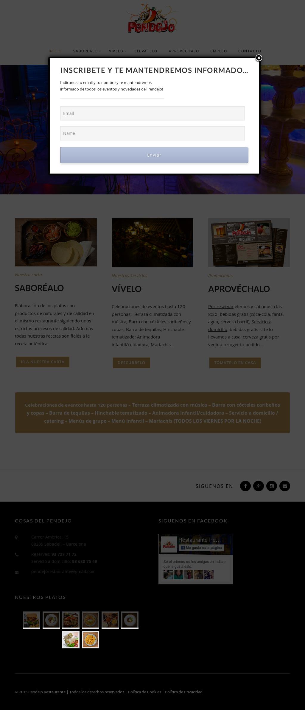 Pendejo Restaurante Oficial Competitors Revenue And