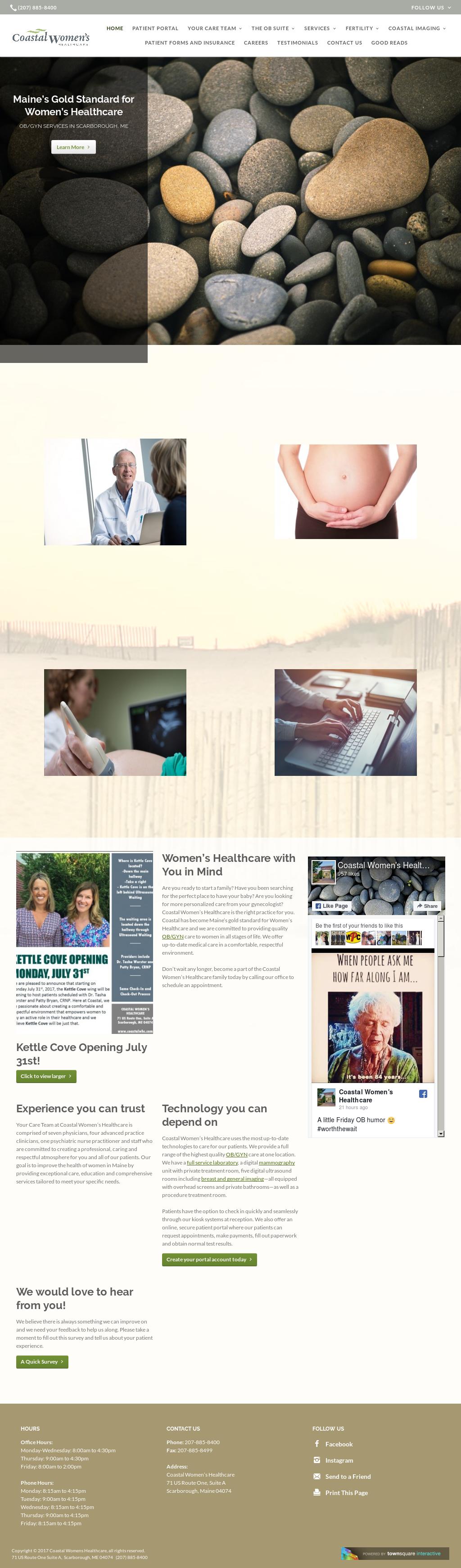 Coastal Women's Healthcare Competitors, Revenue and