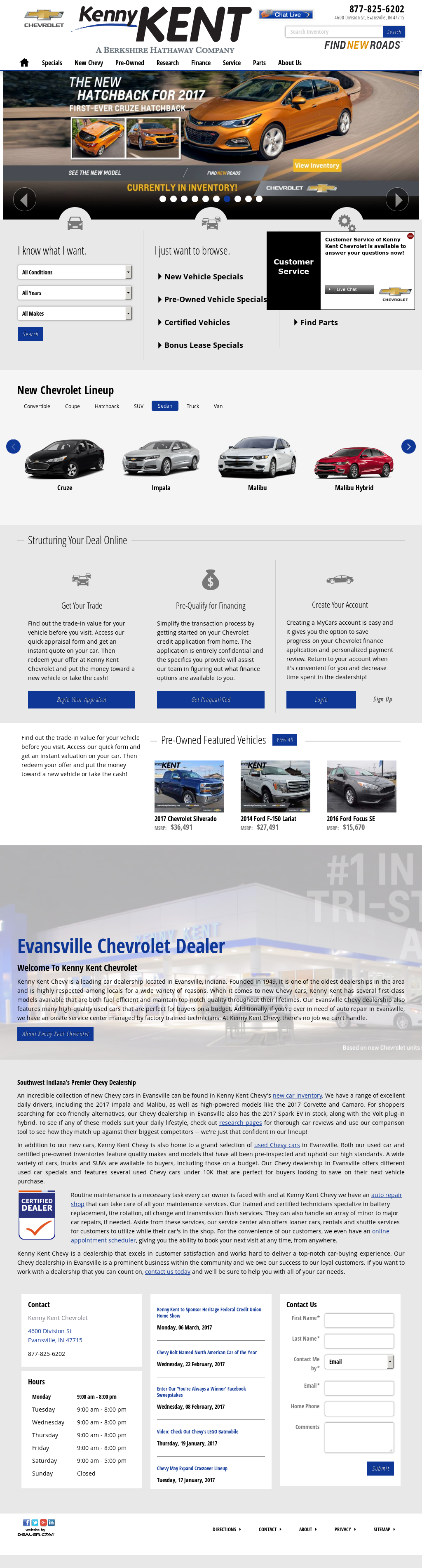 Kenny Kent Chevrolet >> Kenny Kent Chevrolet Competitors Revenue And Employees