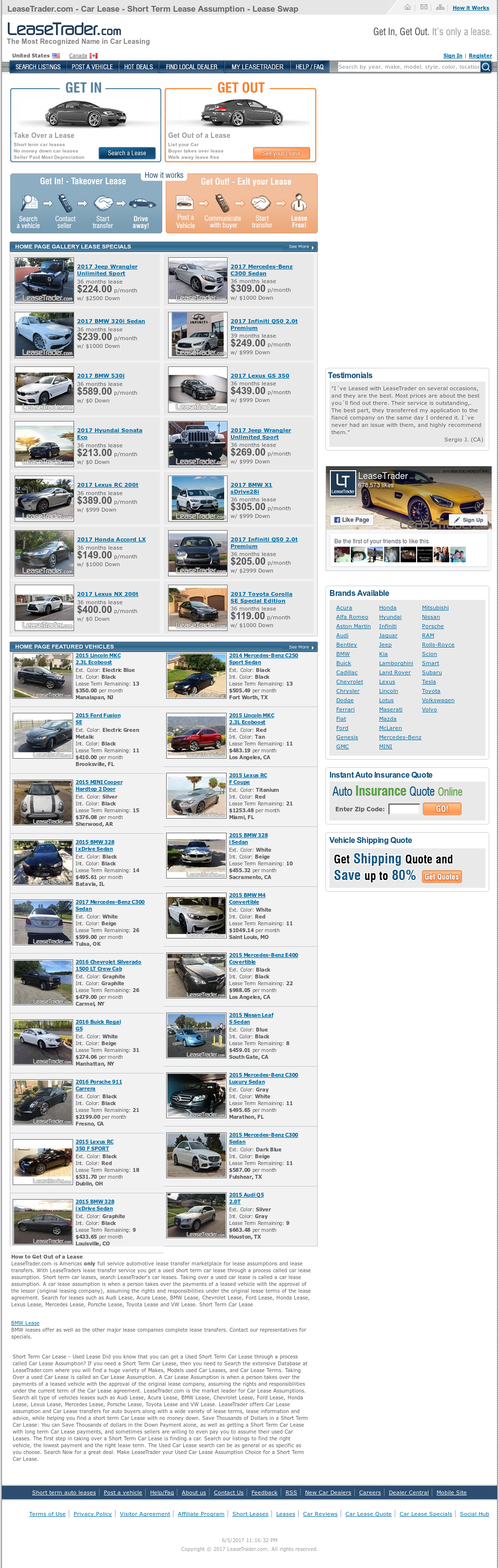 Car Lease Transfer petitors Revenue and Employees Owler