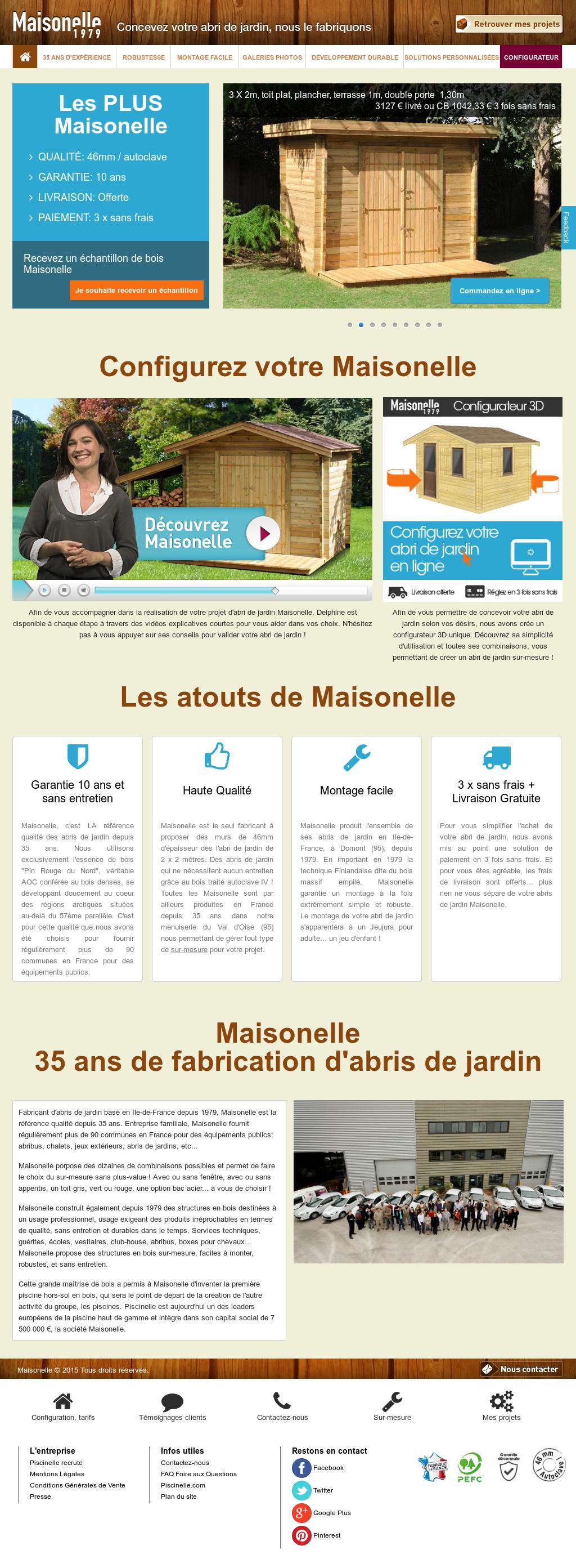Abris De Jardin Maisonelle Competitors Revenue And