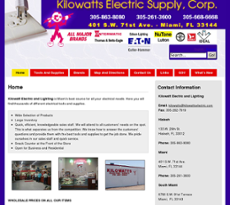Kilowatts Electric Compeors Revenue And Employees Owler Company Profile