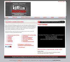 Korellis Roofing Website History