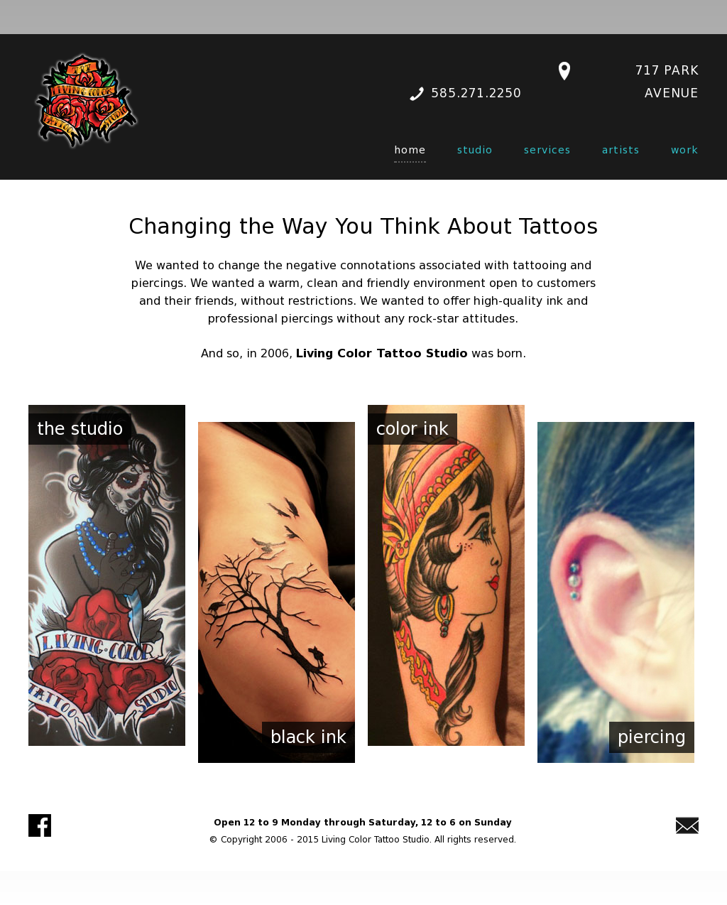 Living Color Tattoo Studio Competitors, Revenue and Employees ...