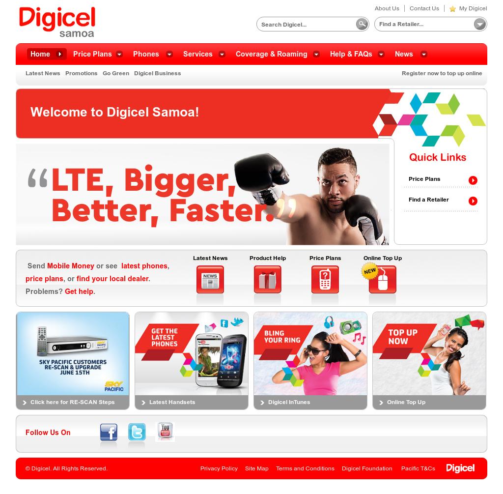 Owler Reports - Digicel Samoa: Digicel Samoa starts Rugby